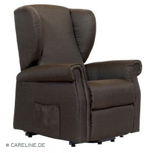 Relaxfauteuil Valé, polyesterbekleding