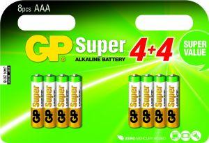 AAA batterijen multipack - 8 stuks