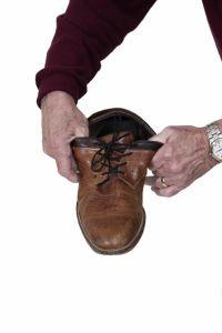 Schoenveters zwart elastische
