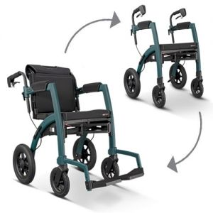Rollz Motion Performance rollator en rolstoel in 1