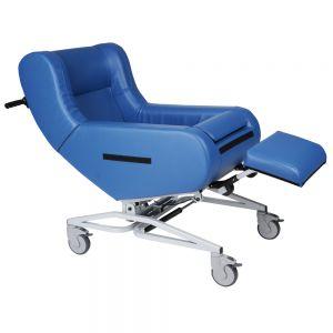 Verpleegrolstoel Doris, blauw