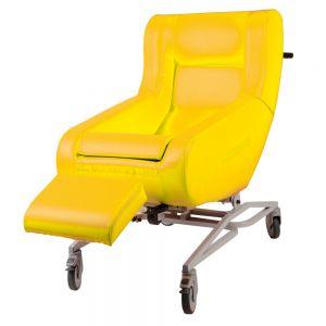 Verpleegrolstoel Doris, geel