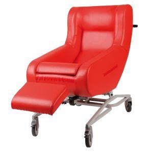 Verpleegrolstoel Doris, rood