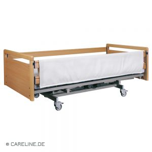 Bekleding voor bedspijlen, beige, 190 x 75 cm, klittenband