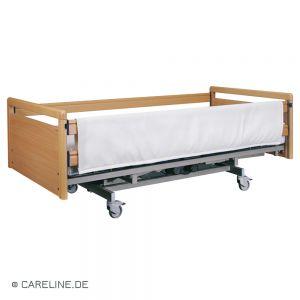 Bekleding voor bedspijlen, beige, 190 x 75 cm, rits