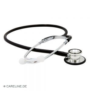 MEDISAFE® dubbelhoofd-stethoscoop, zwart