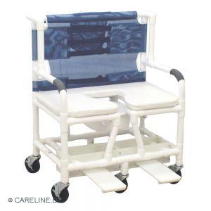 PCS® douche- en toiletrolstoel - postoel XXXL, tot 318 kg