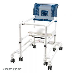 Hard (plastic) zitvlak voor PCS® looprek, wit