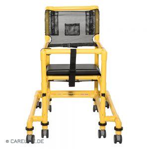 PCS® looprek hoogteverstelbaar, geel