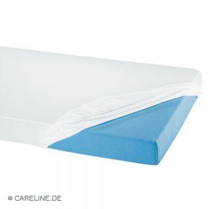 Dekbedovertrek uit PU, wit, afmetingen: 90 x 200 x 12 cm