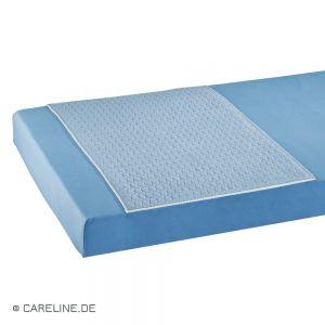 Bed-onderlegger 75 x 85 cm met inslag