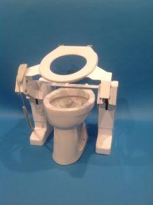 Aerolet diagonale toilet lift – model Basic (230V)