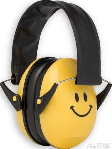 Alpine Muffy oorkappen smile/geel AL200180