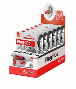 Plug & Go Oordopjes -  display 6 doosjes