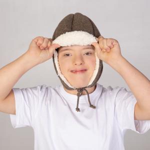Valhelm Ribcap Bieber Brouwn Kids