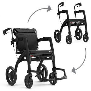 Rollz Motion 2.1 rollator en rolstoel in één