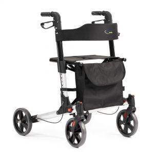 Rollator Elitewheelz met zachte wielen