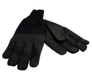 RevaraSports lederen winter handschoenen XL PR35186BK-XL