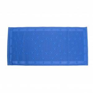 Anti-slip badmat blauw