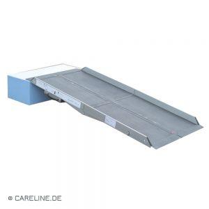 Opvouwbrug B2 uit aluminium, tweevoudig vouwbaar
