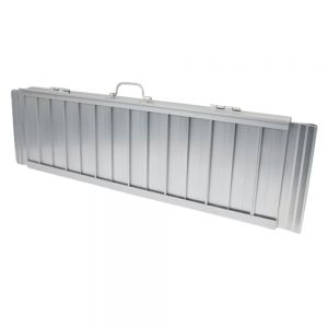 Kofferplatforms uit aluminium, 76 x 120 cm