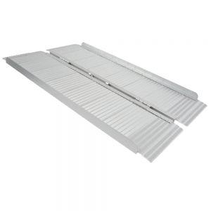 Kofferplatforms uit aluminium, 76 x 150 cm
