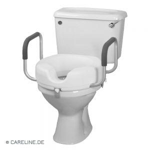 Toiletzitverhoging, met afneembare armleuningen