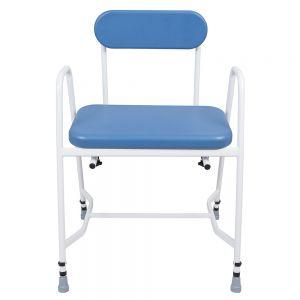 Douchekruk  KING MEDIATRIC met gepolsterterde zitplaats en verstelbare rugleuning