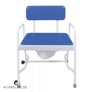 Toiletstoel / postoel Starr voor zwaarlijvigen, tot 318 kg