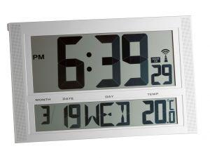 Radiografische klok met temperatuur XXL  TF1010