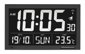 Radiografische klok met temperatuur XL  TF1020