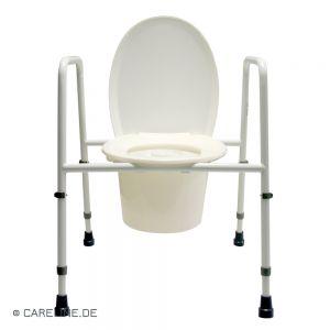 Toiletstoel / postoel en -steunrek