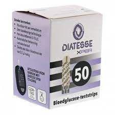 Diatesse XPER teststrips - 50 stuks