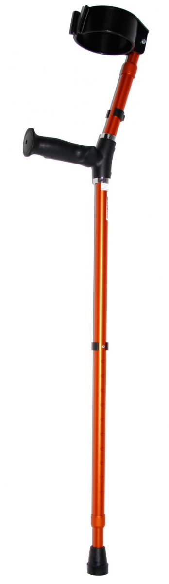 Premis Anatomische Elleboogkruk per Paar - Oranje